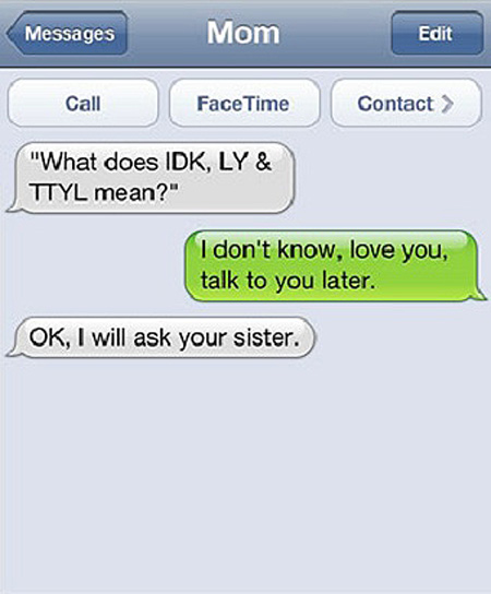 Top 10 Funniest Text Messages from Parents – TechEBlog