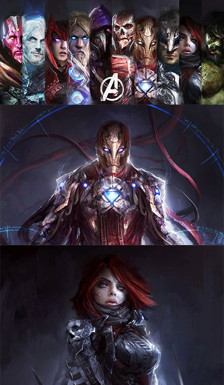 The Avengers Warcraft