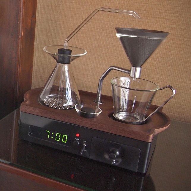 The Barisieur Coffee Alarm Clock
