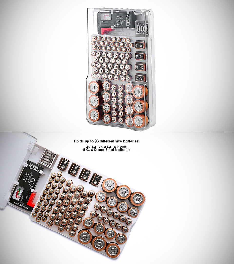The Battery Organizer