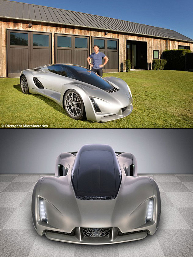 The Blade 3D Printed Supercar