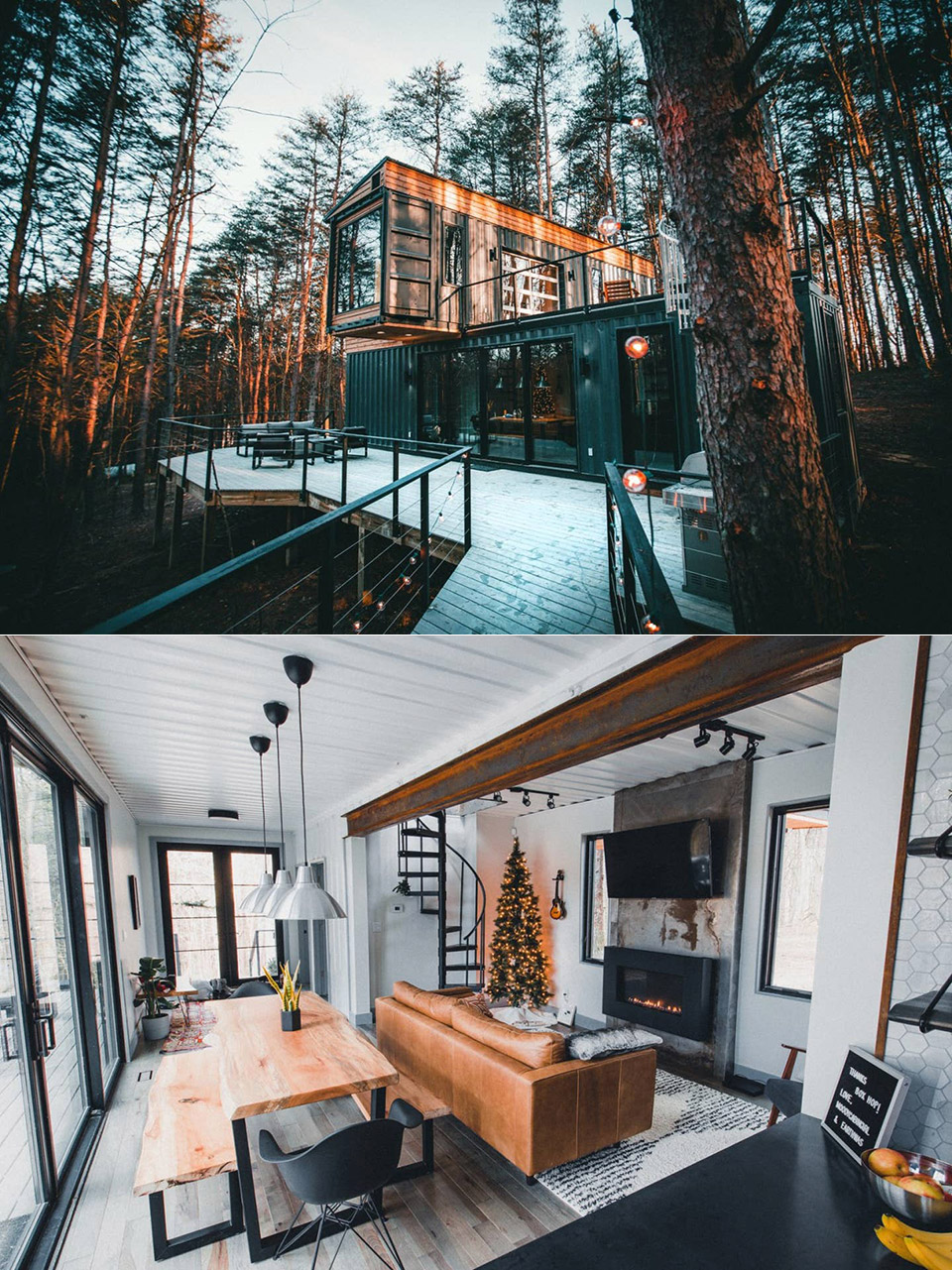 The Box Hop Shipping Container Cabin Airbnb