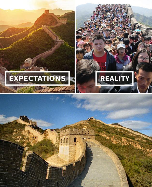 The Great Wall Expectation vs. Reality
