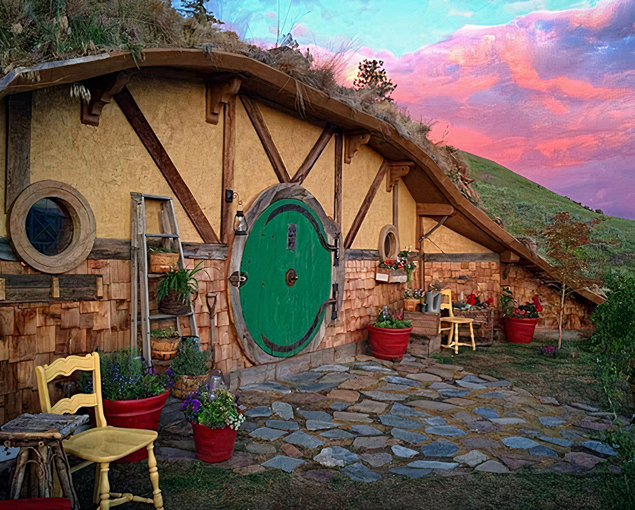 The Hobbit House Washington Airbnb