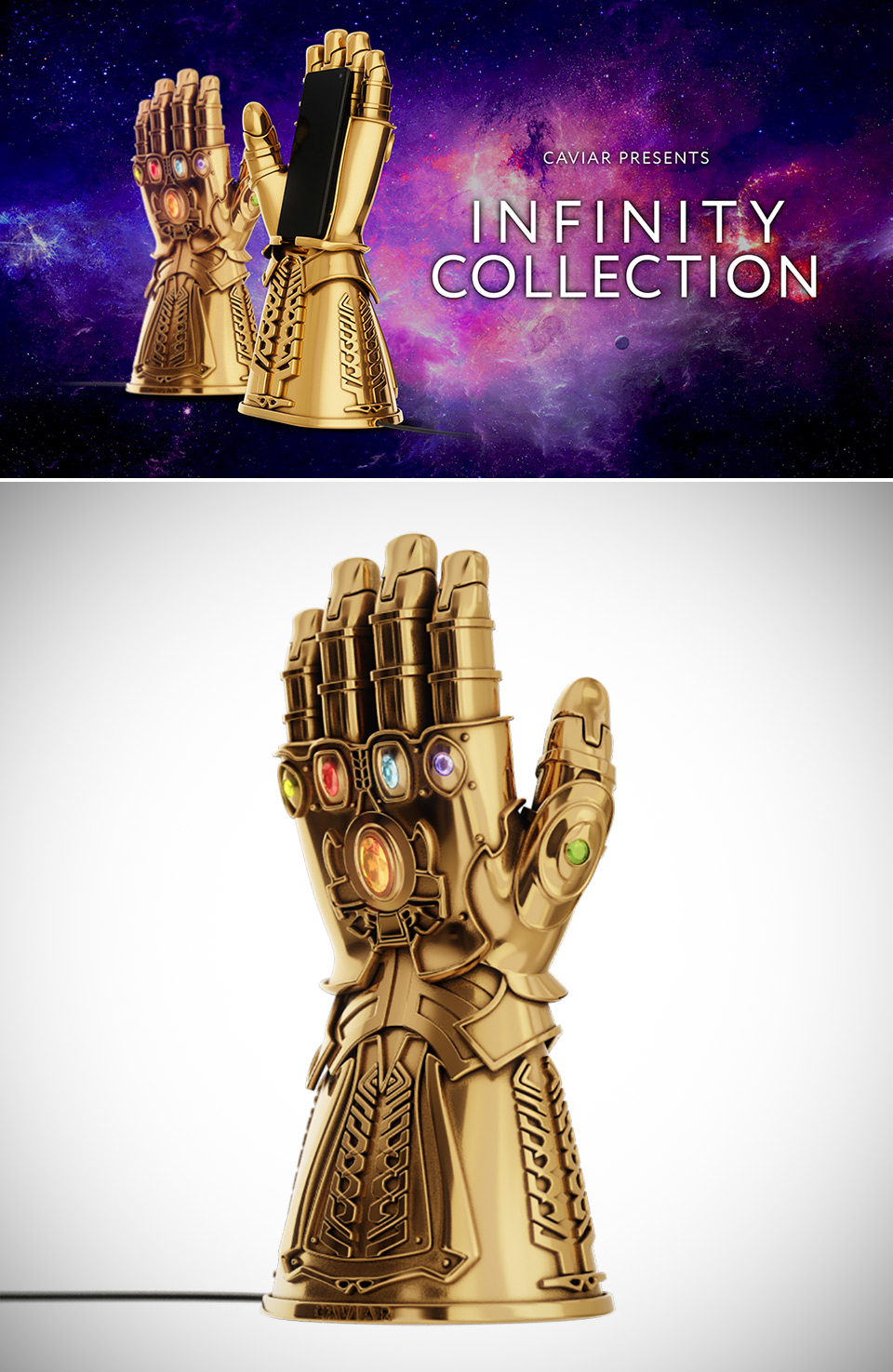 The Infinity Gauntlet Avengers Endgame Charger