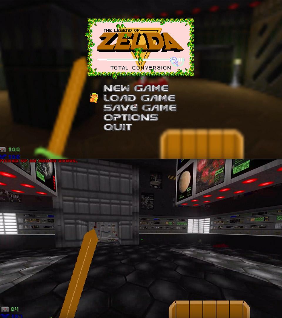 The Legend of Zelda Doom Mod DB