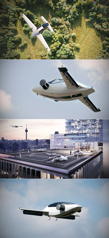 Lilium Jet est une Première Mondiale Tout-Électrique à Décollage Vertical Voiture Volante, Achève de Voyage Inaugural