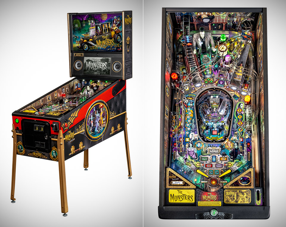 The Munsters Pinball Stern Electronics Inc