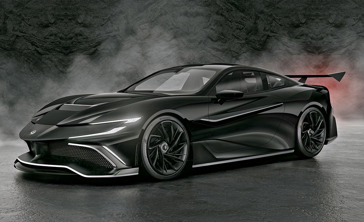 The Naran Hyper Coupe Hypercar