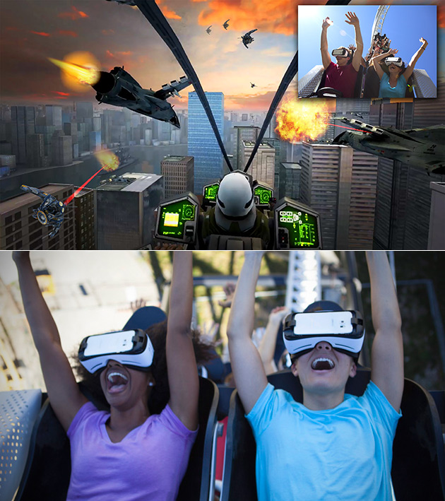 The New Revolution VR Coaster