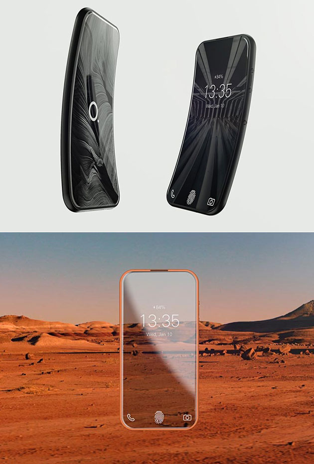 The Orbit Flexible Smartphone