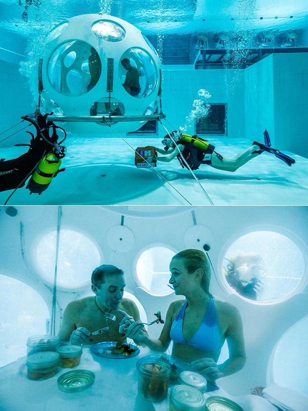 The Pearl Underwater Scuba-Diving Restaurant