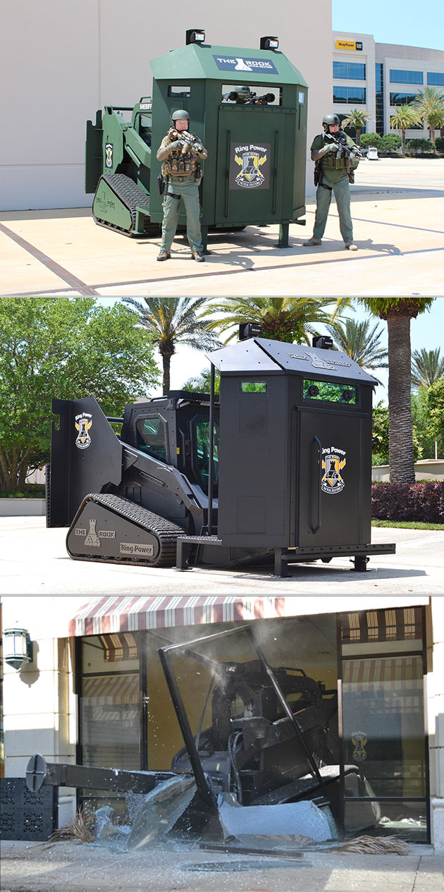 The Rook Ring Power Vehicle