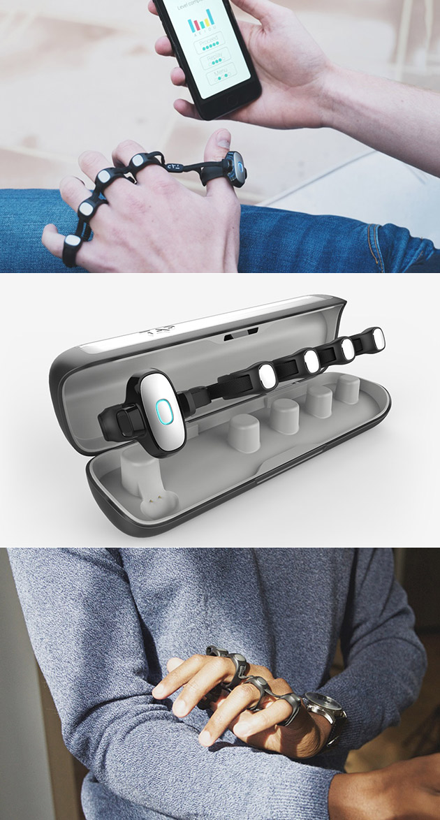 The Tap Strap Keyboard