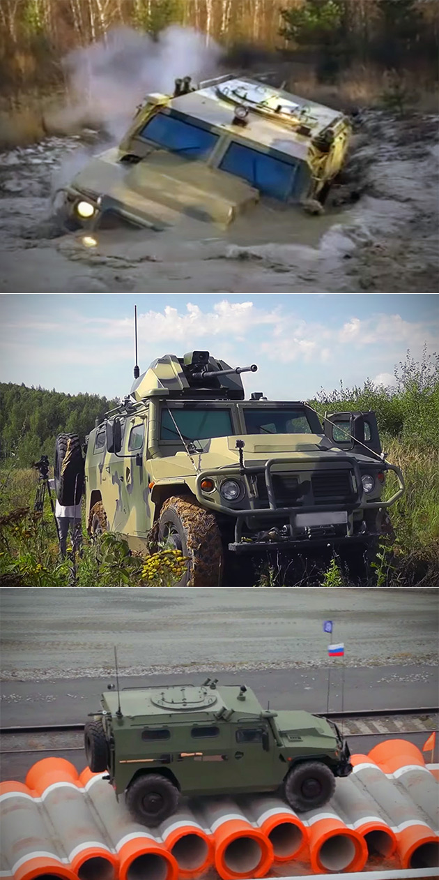 The Tigr Driverless War Vehicle