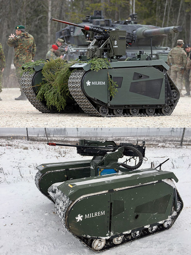 Themis Hybrid Unmanned Ground Vehicle