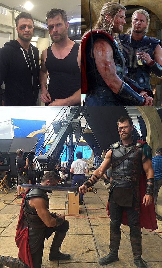Thor Stunt Double