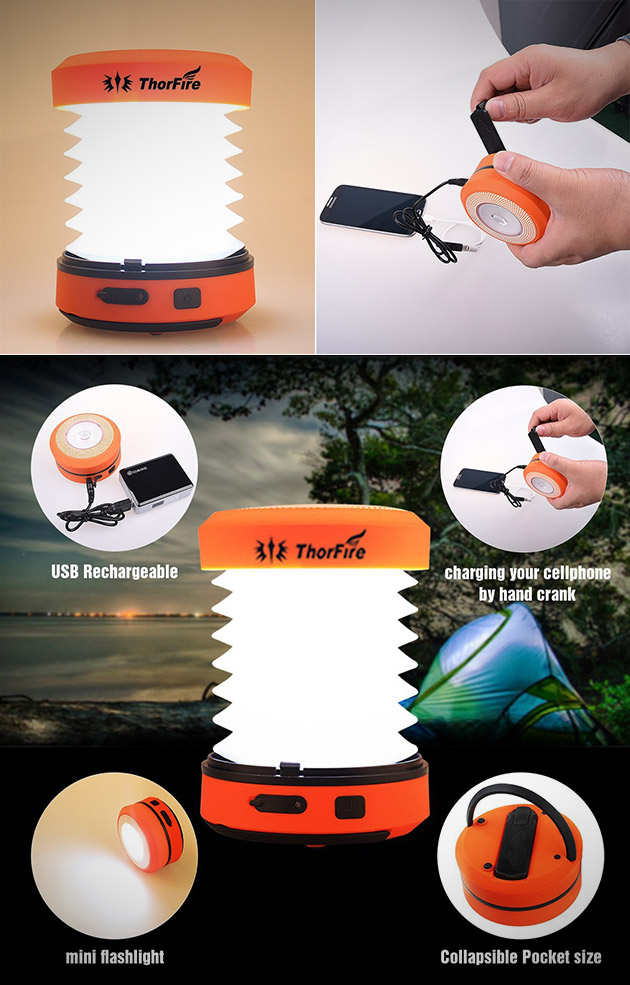 ThorFire LED Lantern