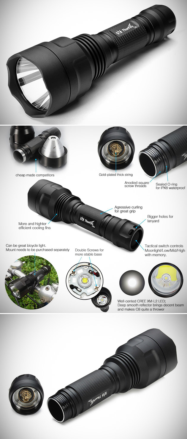 ThorFire LED Torch