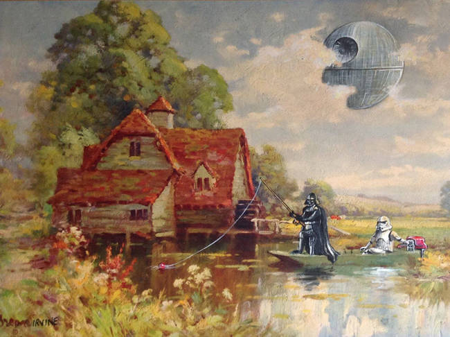 Thrift Store Paintings Reimagined