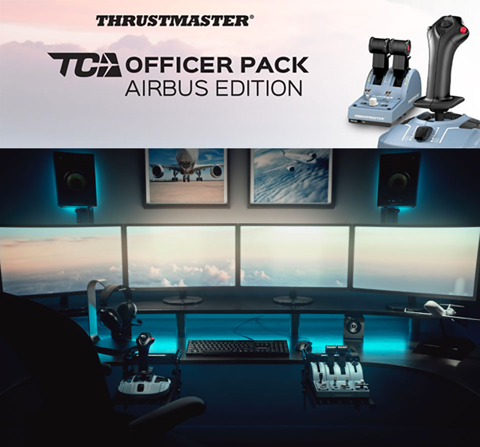 Thrustmaster Civil Aviation Airbus Throttle Side Stick