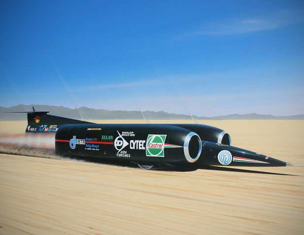 Nevada Auto Sound >> ThrustSSC was the First Car to Ever Break the Sound ...