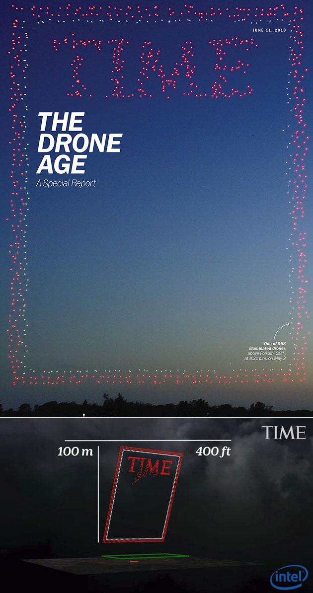 TIME Magazine Drones