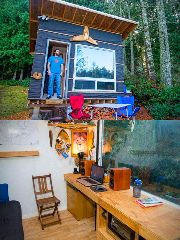 Tiny Transforming Home