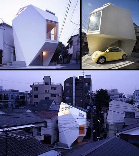 Japanese Architect Builds Tiny Yet Modern House - TechEBlog