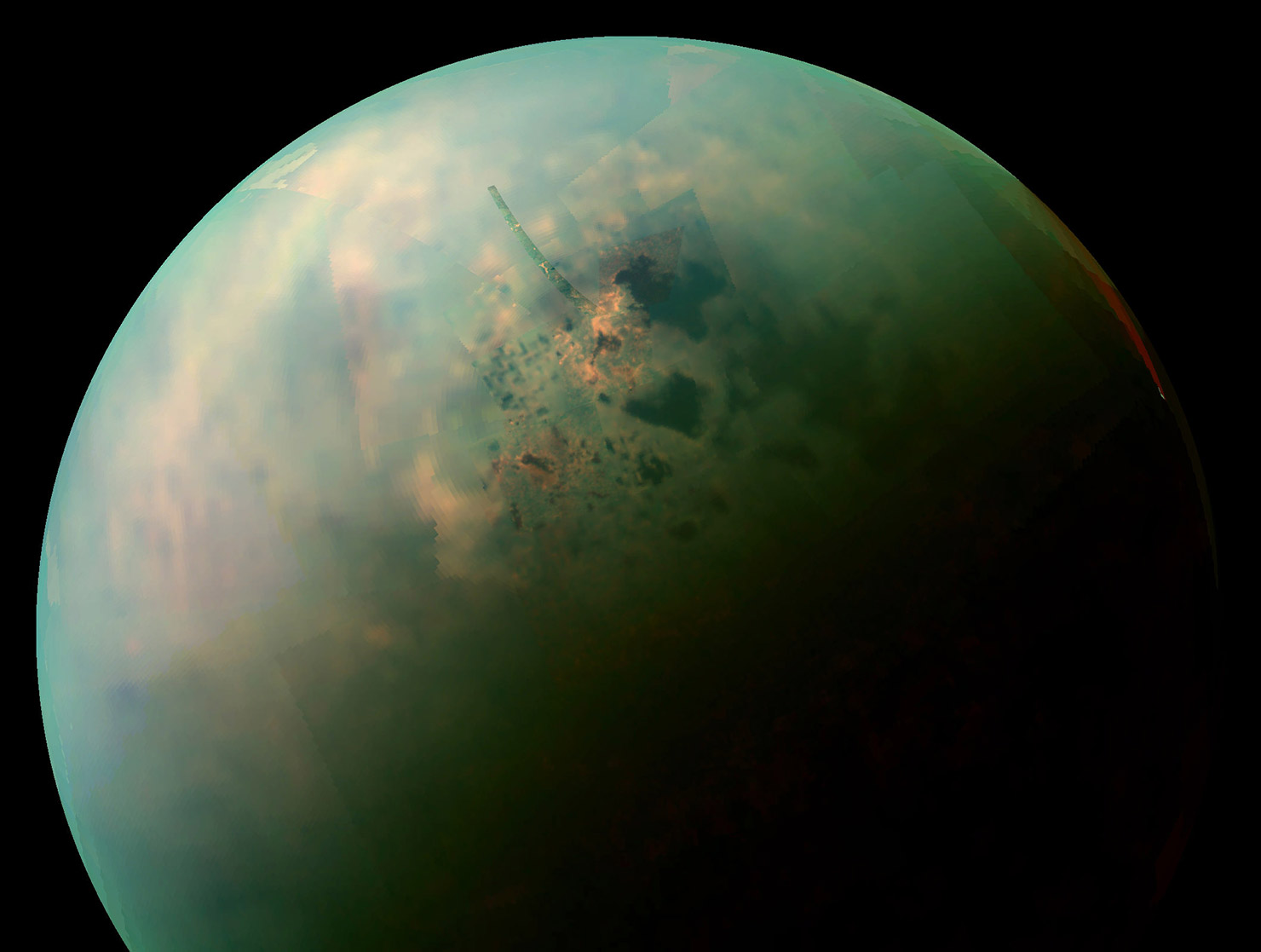 Titan Nitrogen Solar System