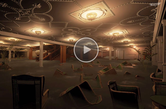 Titanic Unreal Engine 4