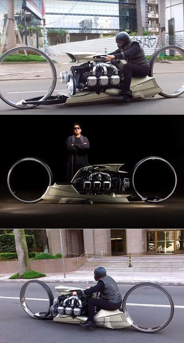 TMC Dumont Motorcycle