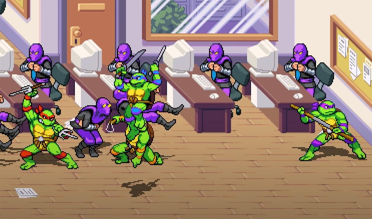 TMNT Shredder's Revenge Arcade Beat 'em Up