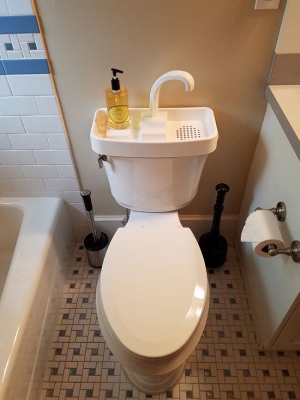 Toilet Tank Sink