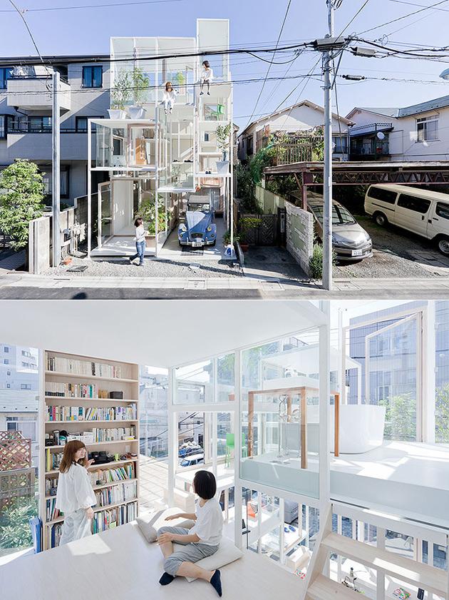 Tokyo Transparent House