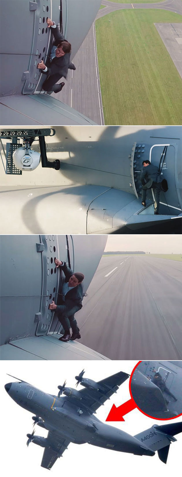 Tom Cruise Airplane
