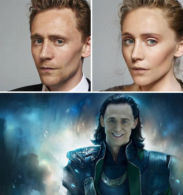 Tom Hiddleston Female