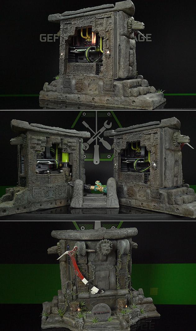 Tomb Raider PC Case Mod