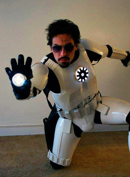 Fantastic What Tony Stark Would Look Like As A Stormtrooper Techeblog Hairstyles For Women Draintrainus