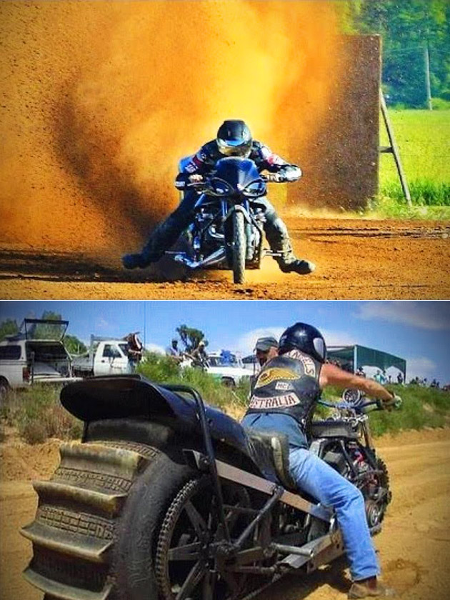 Top Fuel Dirt Drag
