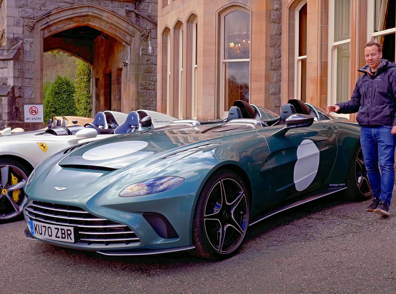 Top Gear Aston Martin V12 Speedster