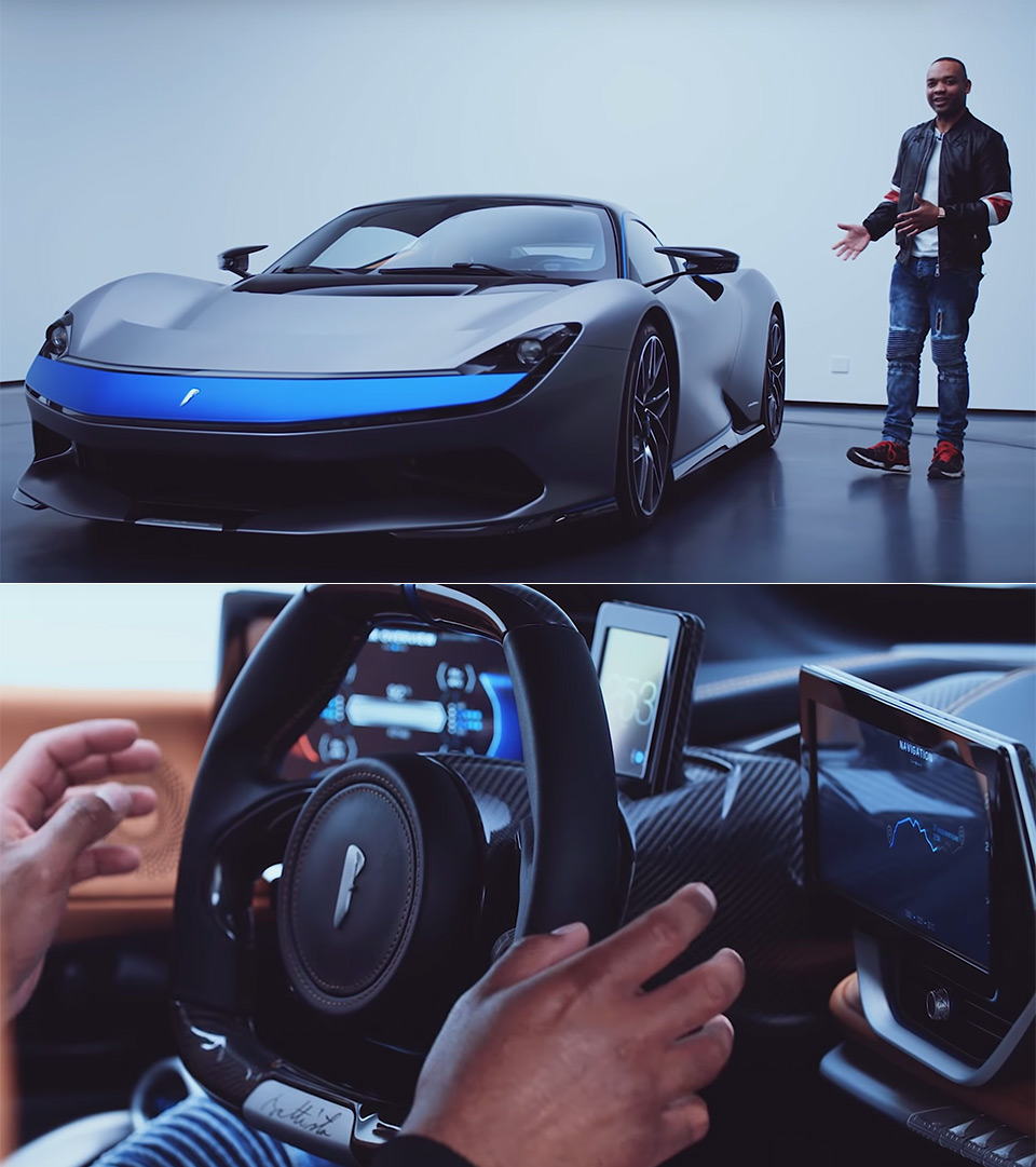 Top Gear Pininfarina Battista