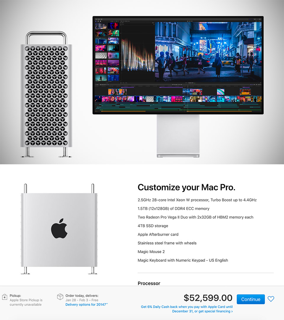 Top-of-the-Line Mac Pro