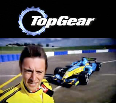 top gear richard hammond drives a formula 1 car techeblog. Black Bedroom Furniture Sets. Home Design Ideas