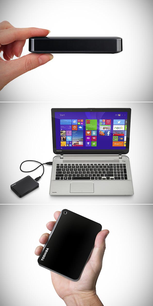 Toshiba Canvio Portable HDD