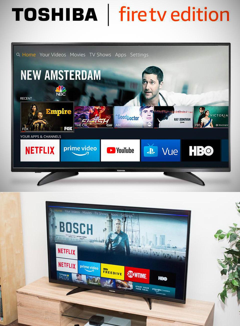 Toshiba Smart LED Fire TV