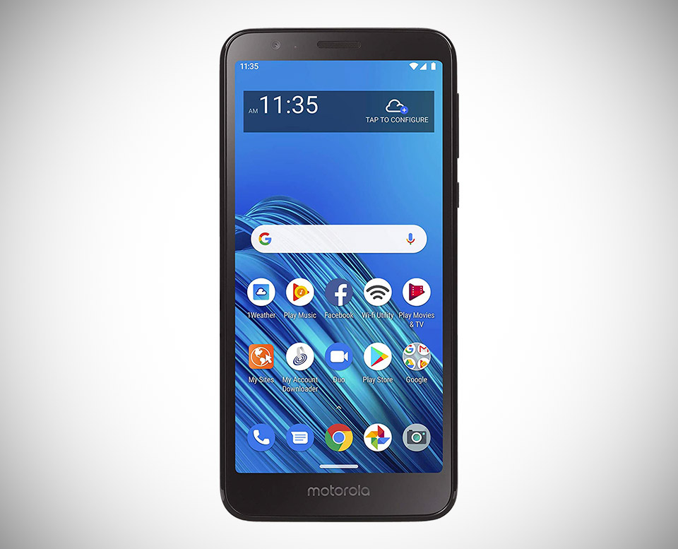 Total Wireless Moto E6 Smartphone