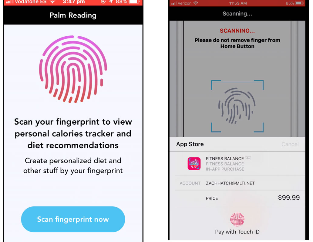 Touch ID Face ID In-App Purchase Trick