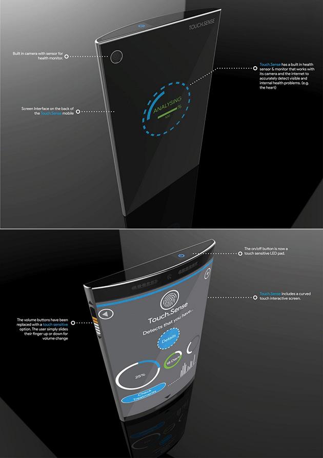 Touch Sense Phone