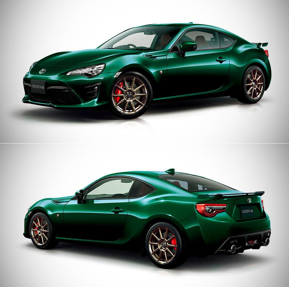 Toyota 86 British Racing Green